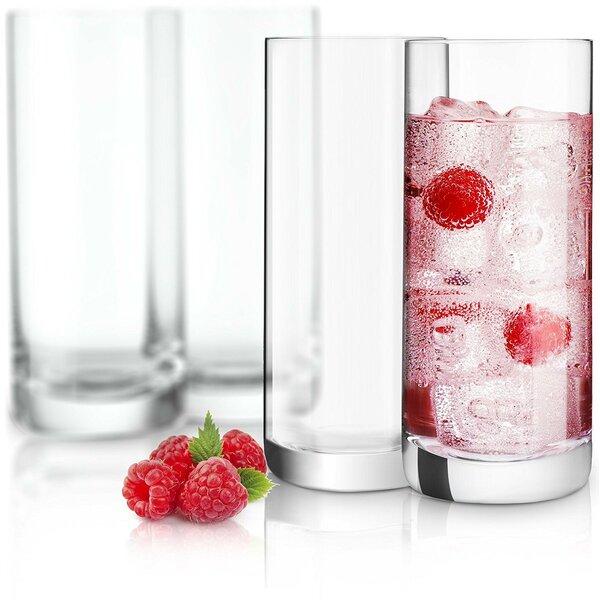 Stella Crystal 14.2 oz. Highball Glass (Set of 4) by JoyJolt
