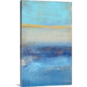 'Rondayview Bay' Graphic Art on Canvas by Mercury Row