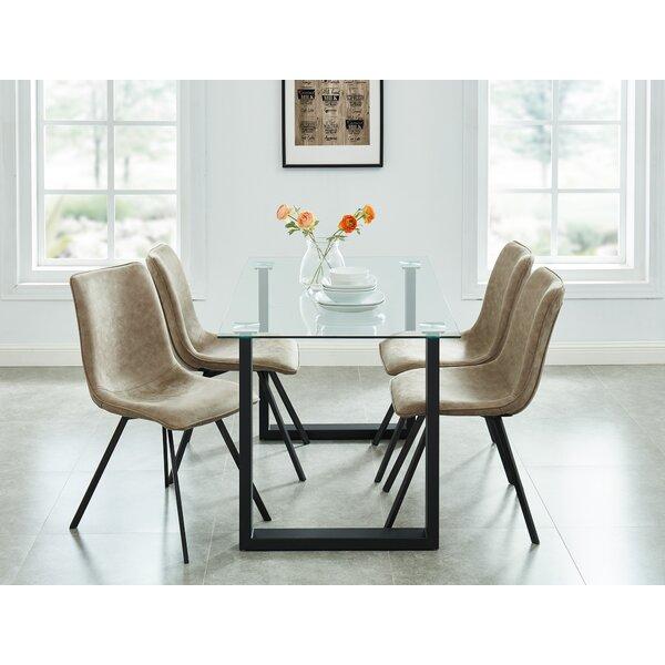 Dina Contemporary 5 Piece Dining Set by Wrought Studio