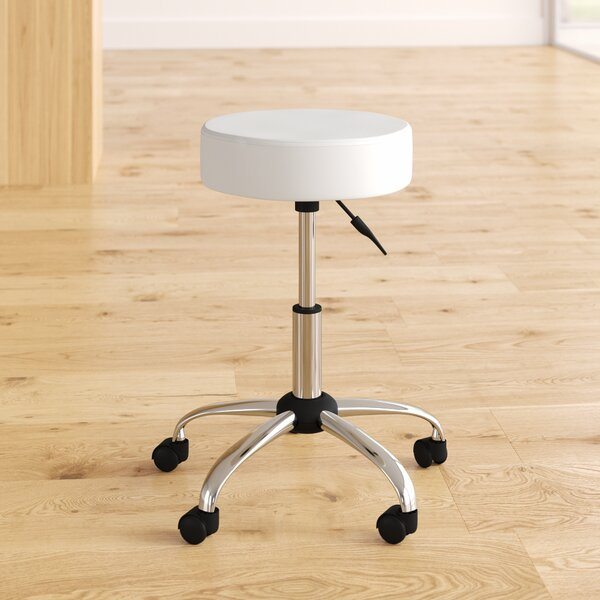 Pleasing Warleigh Height Adjustable Stool With Caster Wheels By Orren Ellis Gmtry Best Dining Table And Chair Ideas Images Gmtryco