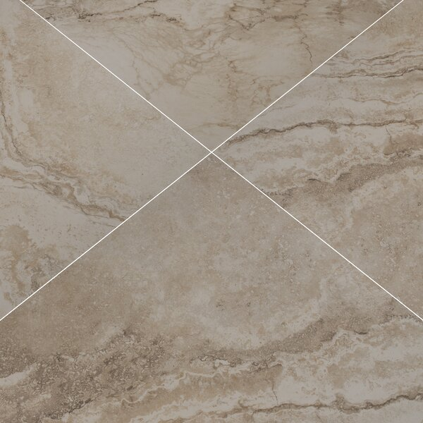Napa 20 x 20 Ceramic Field Tile in Beige by MSI
