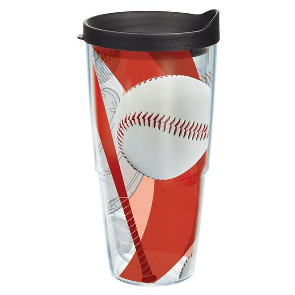 Game On Baseball Plastic Travel Tumbler by Tervis Tumbler