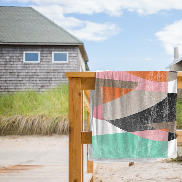 Fragments XIII Beach Towel by East Urban Home