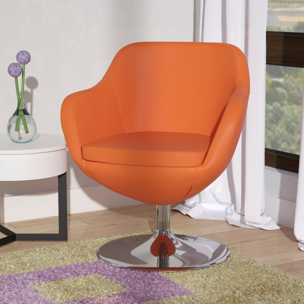 Wharton Swivel Armchair by Wade Logan