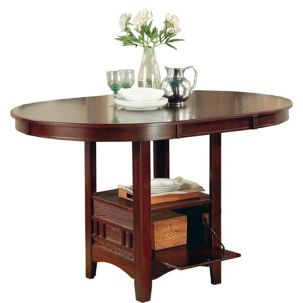 Norwalk Counter Height Extendable Dining Table by Alcott Hill