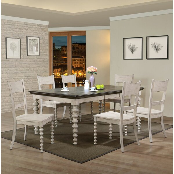 Bustillos 7 Piece Drop Leaf Dining Set by Gracie Oaks