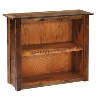 Reclaimed Barnwood Standard Bookcase Fireside Lodge