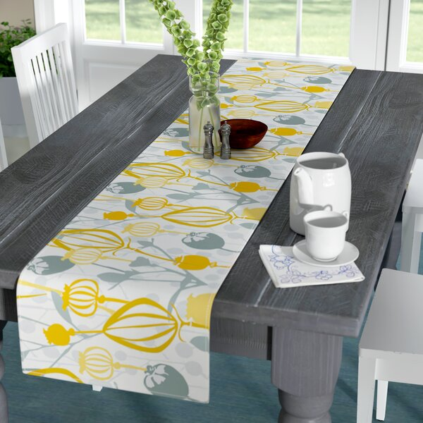 Julie Hamilton Willow Wisp Table Runner by East Urban Home
