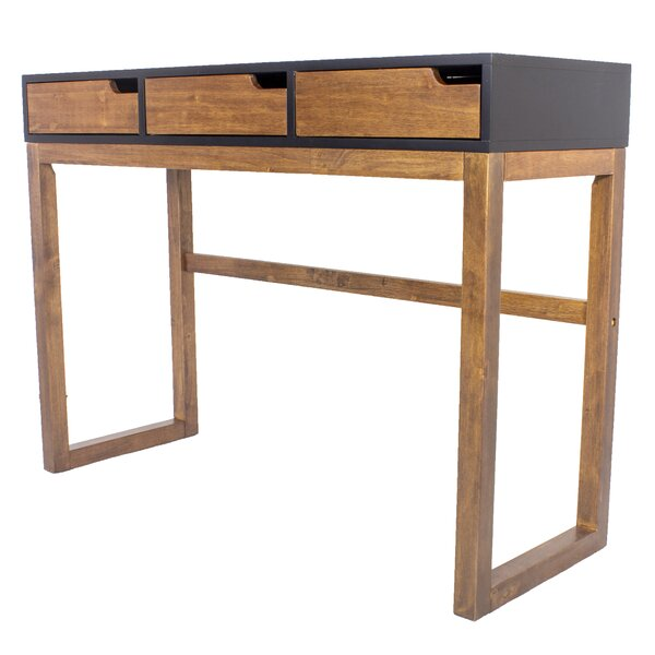 Three Drawer Console Table By Union Rustic