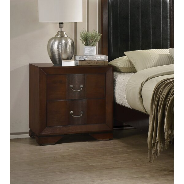 Foote 2 Drawer Nightstand by Winston Porter