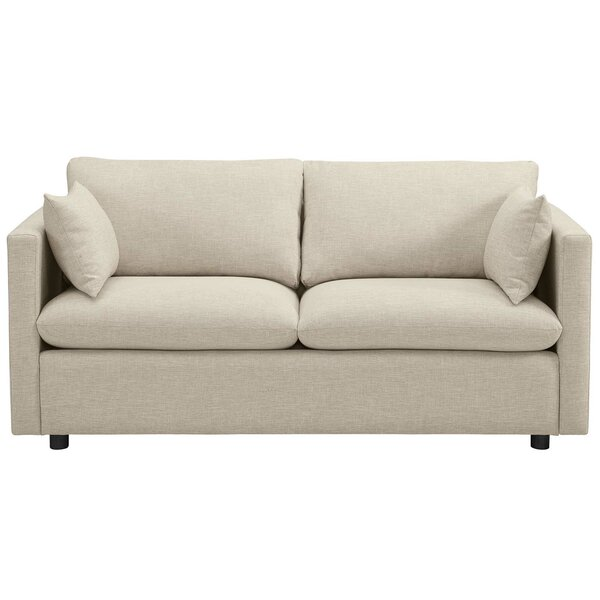 Lola Upholstered Sofa by Wrought Studio