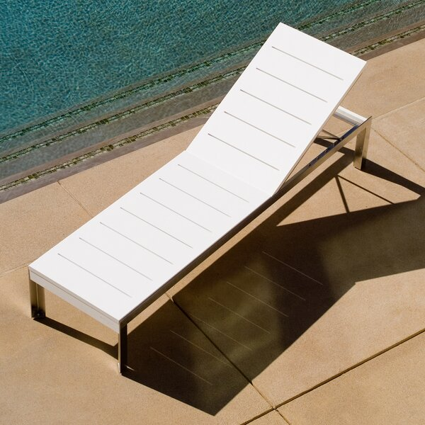 Etra Reclining Chaise Lounge by Modern Outdoor