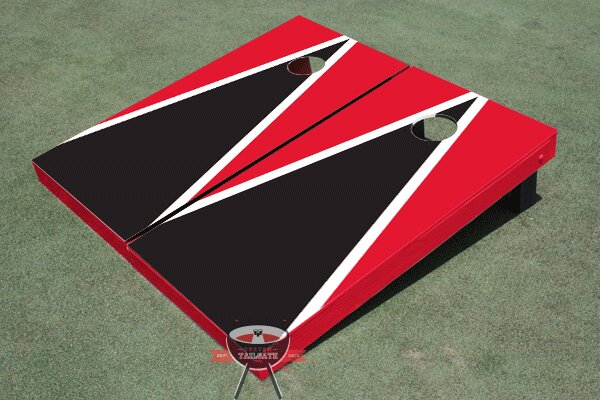 Matching Triangle Cornhole Board (Set of 2) by All American Tailgate