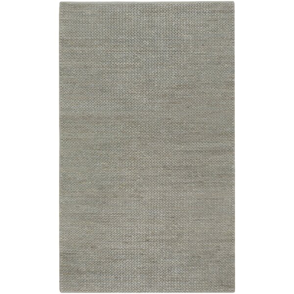 Tai Hand Woven Gray Area Rug by Bay Isle Home