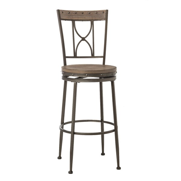 Barlow 30 Swivel Bar Stool by Fleur De Lis Living