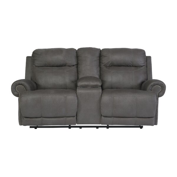 Culver Double Console Reclining Loveseat By Red Barrel Studio