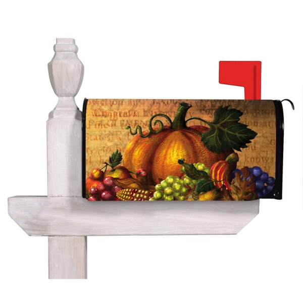 Give Thanks Table Magnetic Mailbox Cover by Evergr
