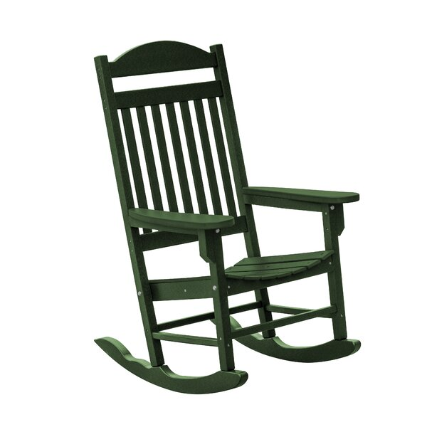 Patricia Rocking Chair by Rosecliff Heights