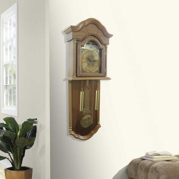 Full Grandfather Wall Hanging Clock by Jenlea