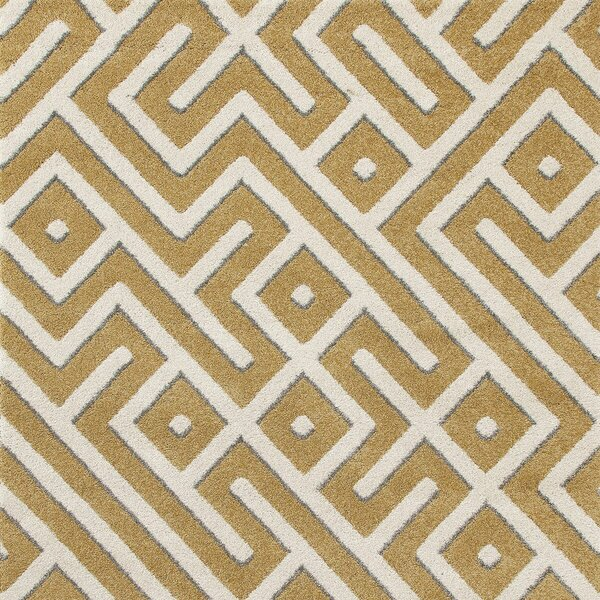 Charette Yellow Area Rug by Orren Ellis