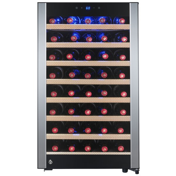 52 Bottle Single Zone Convertible Wine Cooler By Akdy.