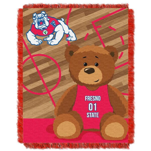 Collegiate Fresno State Baby Throw by Northwest Co.