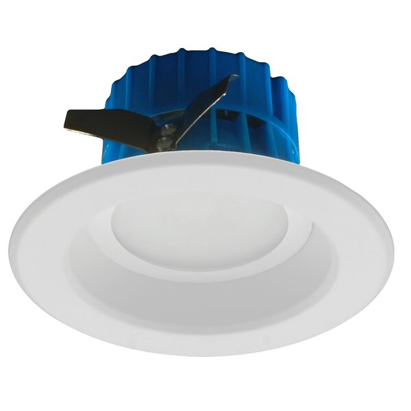 D- Series Open Trim 4 LED Retrofit Downlight by NICOR Lighting