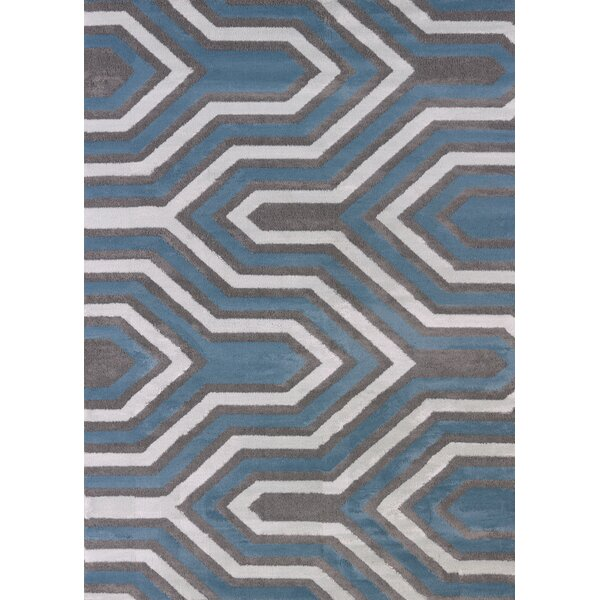 Modern Texture Cupola Charcoal Area Rug by United Weavers of America