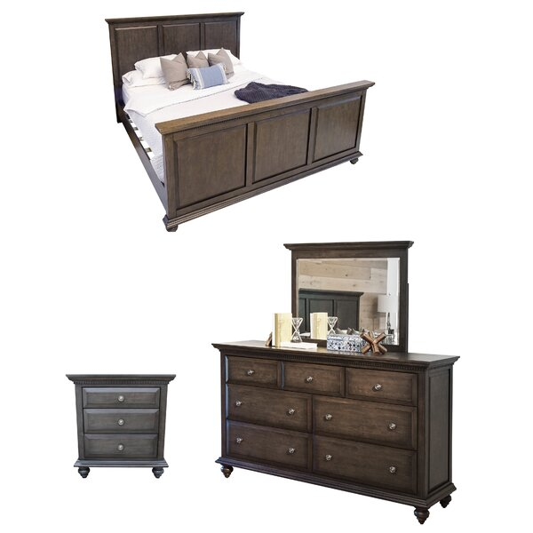 Dezirae Platform Configurable Bedroom Set by World Menagerie