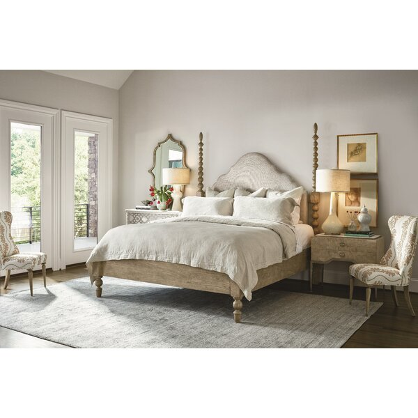 Serenity Jules Poster Upholstered Standard Bed by Fine Furniture Design