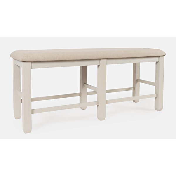 Dilan Solid Wood Bench by August Grove August Grove