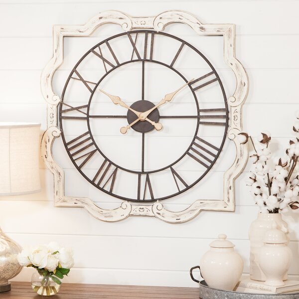 Eloise French Country Wall Clock by Aspire