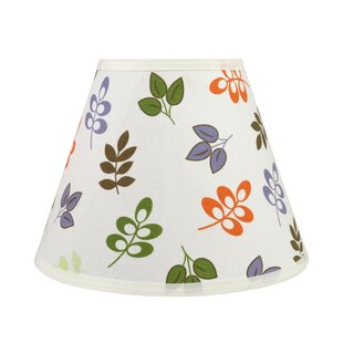 Best Reviews Transitional Hardback 12 Fabric Empire Leaves Lamp Shade By Ebern Designs
