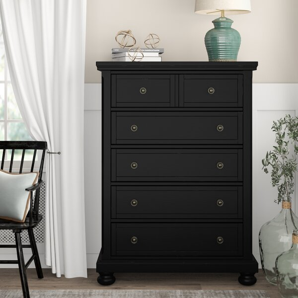 Calila 5 Drawer Standard Dresser Chest by Birch Lane™ Heritage