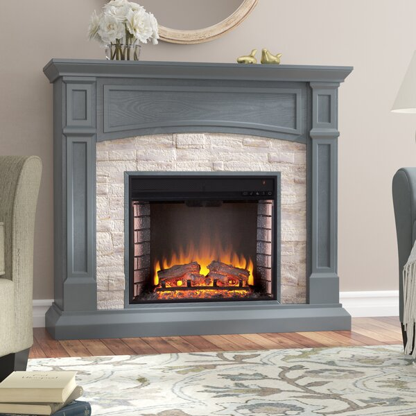 Dawn Electric Fireplace by Alcott Hill