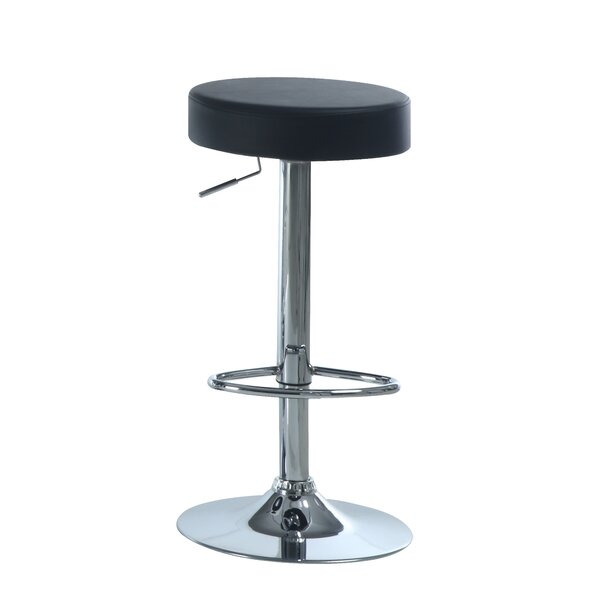 Adjustable 25 Swivel Bar Stool (Set of 2) by Monarch Specialties Inc.