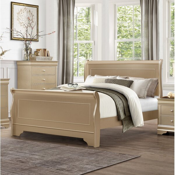 Sleigh Bed by Homelegance