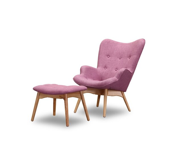 Ali Wingback Chair by Corrigan Studio