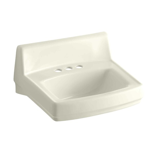 Greenwich Ceramic 21 Wall Mount Bathroom Sink with