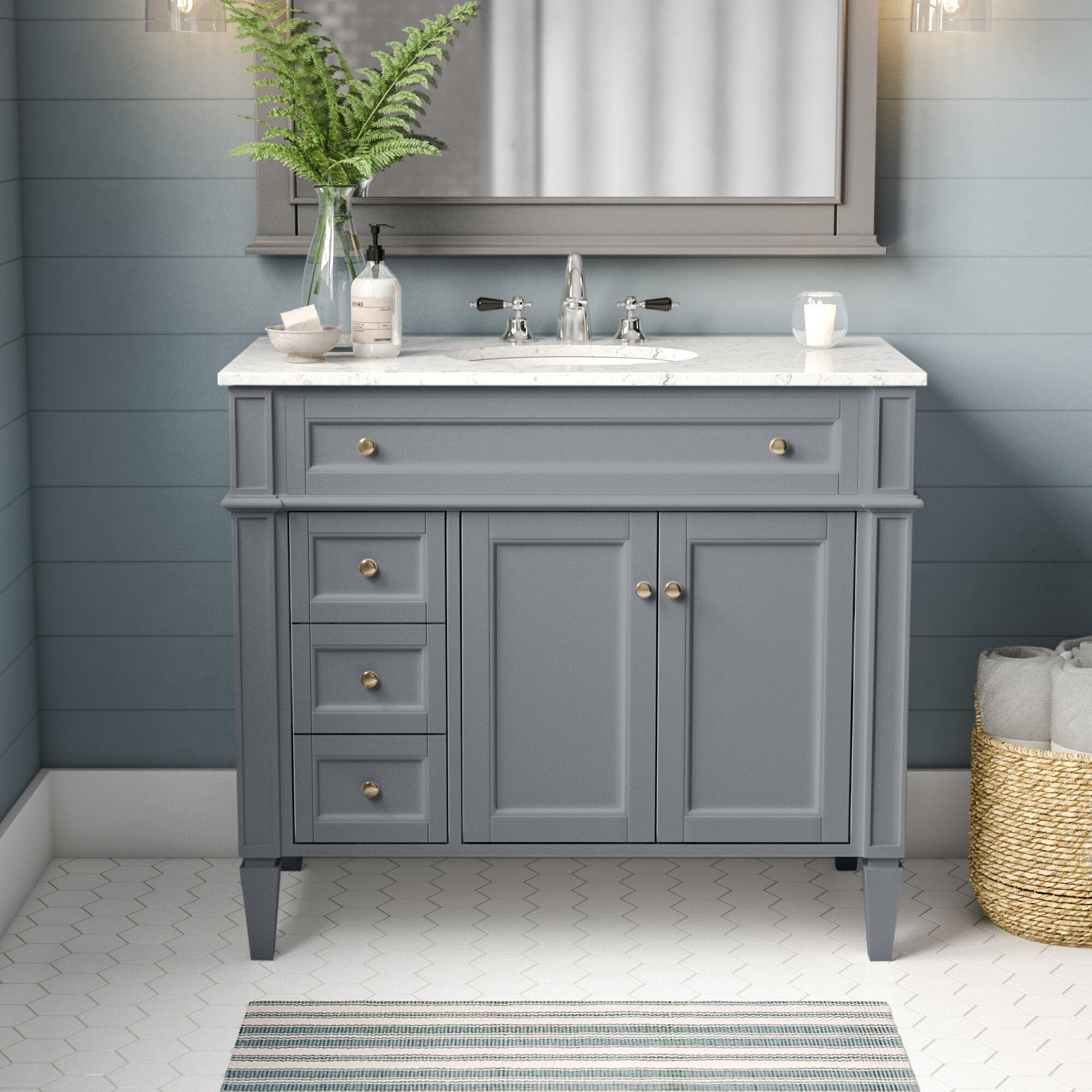 3 Drawer Bathroom Vanities You Ll Love In 2021 Wayfair