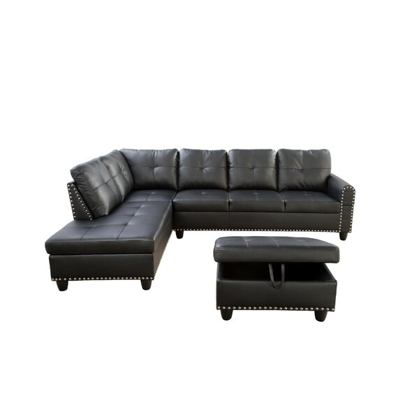 Samsel Sectional with Ottoman by Red Barrel Studio