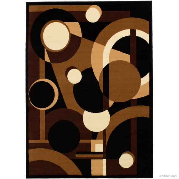 Buser Brown Indoor Area Rug by Ebern Designs