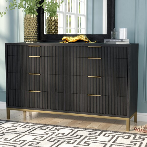 Holford 8 Drawer Double Dresser by Willa Arlo Interiors