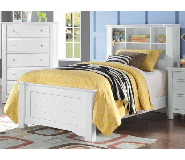 Everman Mates Bed with Bookcase by Harriet Bee
