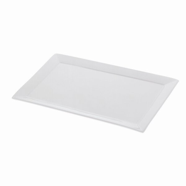 White Basics Sandwich Platter (Set of 2) by Maxwell & Williams