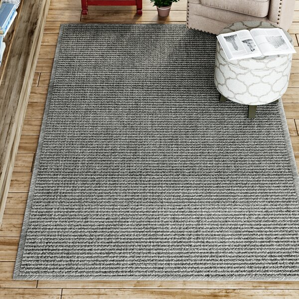 Paquerette Gray Area Rug by Gracie Oaks