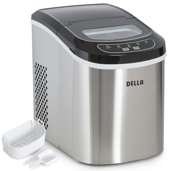 Daily Production Portable Ice Maker by Della