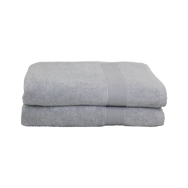 Luxury Cotton Bath Towel (Set of 2) by CB Station