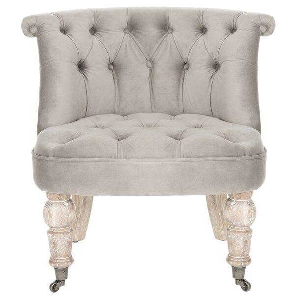Carlin Slipper Chair by Safavieh