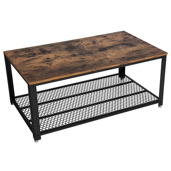 Landis Metal Frame Coffee Table With Tray Top By Williston Forge